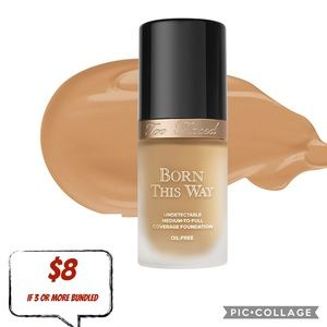 New TOO FACED Born This Way Foundation